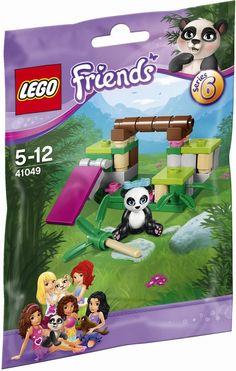 41049 LEGO Friends Animals - Series 6 Panda's Bamboo