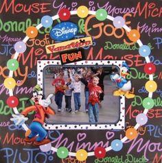 Disney Vacation Fun - Scrapbook.com by kendra