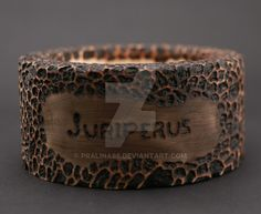 Stand decorated using pyrography. by on DeviantArt Pyrography, Cuff Bracelets, Rings For Men, Company Logo, Jewelry, Decor, Men Rings, Jewlery, Decoration