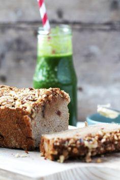 bananenbrood4 Healthy Breakfast Recipes, Healthy Snacks, Healthy Recipes, Banana Bread, Keto, Cake, Sweet, Desserts, Child