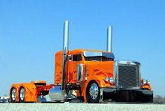 peterbilt flat top show trucks | ... - Un américain au… - IOWA 80 - Peterbilt - Le blog de canadou