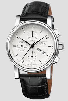 Teutonia II Chronograph - Teutonia II - Classical Timepieces - Functional Wristwatches   Mühle-Glashütte GmbH nautische Instrumente und Feinmechanik
