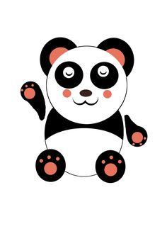 Oso Panda #MiDibujo #GIMP #OsoPanda #OsoChino