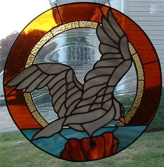Warner Stained Glass - Online Gallery seagull