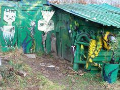 Old woodshed