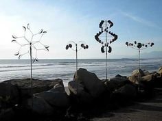 Wind Art Sculptures- A Wind Art Forest