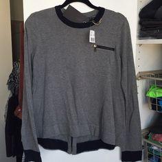 Rag and bone swing sweater BNWT, super cute swing style, zipper back rag & bone Sweaters