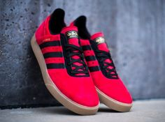 adidas Busenitz ADV – Red – Black – Gum