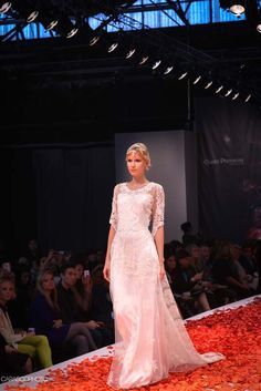 Claire Pettibone 'Julia' wedding dress, Still Life Collection, 2014 Fashion Show, Bridal Market Photo: Carasco Photography