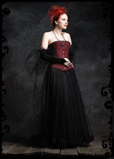 Poetes Tulle Skirt / Petticoat - Custom Gothic Couture $139 #fat