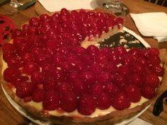 La tarte au framboise