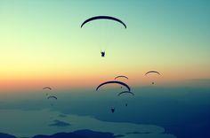 Paragliding, Ölüdeniz / Fethiye, Turkey  by sinademiral