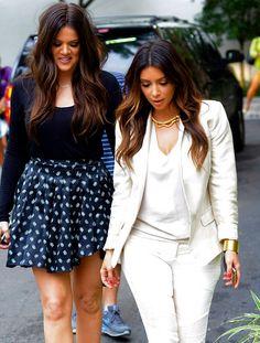 Kardashian Hair.