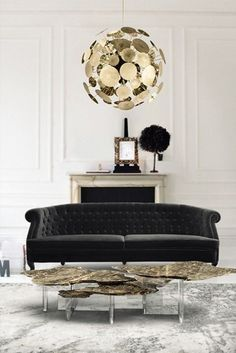 Combining the concept of art and design, these contemporary center tables are gorgeous in their own way, they can be the statement piece you've been looking for to add the finishing touch to your living room design. #coffeetabledesign #centertableideas #modernlivingroom #livingroomdecor #luxurylivingroom #millionairehome #luxuryapartment #insplosion #covethouse #bocadolobo Luxury Interior Design, Interior Design Inspiration, Design Ideas, Design Trends, Luxury Furniture, Furniture Design, Art Furniture, Rustic Furniture, Black Furniture
