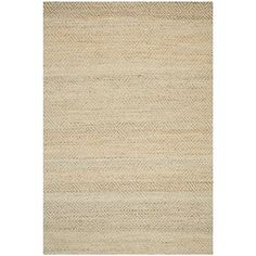 Safavieh Natural Fiber Collection NF453A Handmade Natural and Green Jute Area Rug, 6 feet by 9 feet (6′ x 9′) #handmade The Safavieh Natural Fibers Collection uses premium, natural fibers to create beautiful, modern rugs.  These rugs are hand-woven of 100% natural seagrass.  The cotton backing adds durability, and protects your floors. These modern rugs will add a chic accent to your home. These rugs are made of natural materials such as jute, sissal, and sea grass These rugs are mad..
