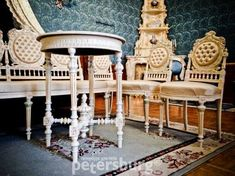 Amazing interious of Yusupov Palace in St.Petersburg