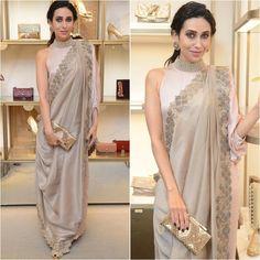 @therealkarismakapoor Outfit - @kiranuttamghosh Jewelry - @tyaanijewellery Clutch & Sandals - @jimmychoo Styled by - @mohitrai #bollywood #style #fashion #beauty #bollywoodstyle #bollywoodfashion #indianfashion #celebstyle #celebrityfashion #indianstyle #afashionistasdiaries #karismakapoor #kiranuttamghosh #jimmychoo