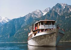 Lady of the Lake cruise up Lake Chelan to remote town of Stehekin. I've been wanting to do this!