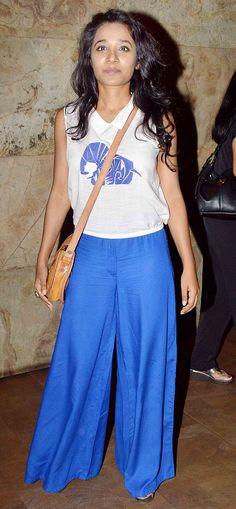 Tannishtha Chatterjee at 'Dil Dhadakne Do' screening. #Bollywood #Fashion #Style #DilDhadakneDo #Beauty