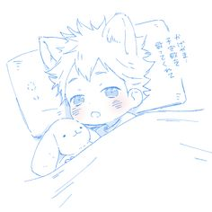 Aww Puppy Hinata about ready to go to sleep, soo cute!!