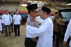 Kunjungan Kapolri dikediaman Habib M Lutfhi Bin Ali Yahya Jawa Tengah dalam Rangka Hadiri HUT Bhayangkara ke-72