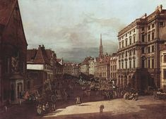 Bernardo Bellotto View of Vienna, flour market of Southwest seen from northeast, 1760 Painting for sale, painting Authorized official website Venetian Painters, Opera Music, Cityscape Art, Oil Painting Reproductions, Italian Artist, Urban Landscape, Paintings For Sale, The World's Greatest, Great Artists