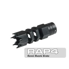 Raven Muzzle Brake (.68) by Rap4. $25.95. This is a replacement Raven Muzzle brake for tactical barrels and tactical rifled barrels.