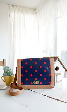 Spot On Polka Dot Purse