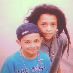 Wow Chaz Ortiz and Nyjah Huston when they were little<3