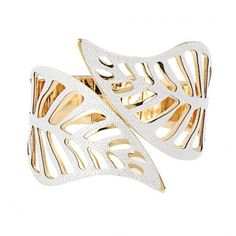 Yoins Leaf Hinge Cuff Bracelet (€5,48) ❤ liked on Polyvore featuring jewelry, bracelets, accessories, rings, yoins, gold, gold cuff bracelet, gold leaf jewelry, gold bangles and bangle cuff bracelet