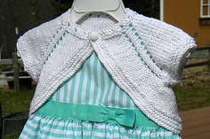 Ravelry: Charlotte's Sunday Shrug pattern by Lisa Seifert :: DoleValleyGirlKnits