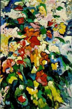 Ciudad de la pintura - VLAMINCK, Maurice de French Fauvist (1876-1958) Flowers Symphony in Colors
