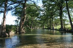 The Medina River near Bandera in the Hill Country of Texas - man did I spend a lot of time in this river!