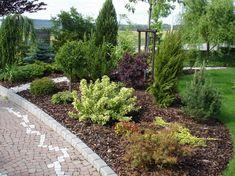 Inšpirácie pre moju (tvoju) záhradu ;) - Modrástrecha.sk Front Garden Landscape, Garden Landscaping, Ale, Garden Design, Pergola, Sidewalk, Garden Ideas, Flowers, Plants