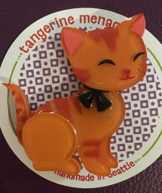Ginger Kitten Ginger Kitten, Animal Jewelry, Brooch Pin, Brooches, Envy, Jewels, History, Drawings, Fun