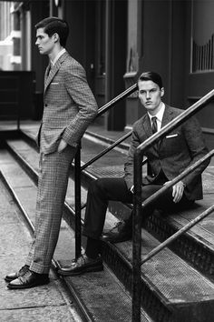 the-suit-man: Thom Browne is Launching a New Suits Line…Suit up!