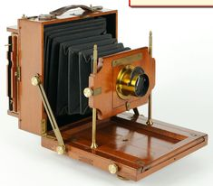 Antique Camera: Scovill & Adams Compact View Camera. c.1892