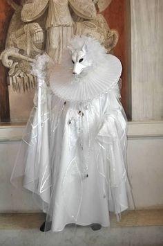 Carnivale of Venice 2014 - Dog or Fox Mask Venetian Carnival Masks, Mardi Gras Carnival, Carnival Of Venice, Venetian Masquerade, Costume Carnaval, Carnival Costumes, Venice Carnivale, Costume Venitien, Animal Masks