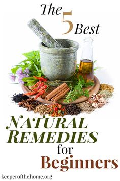 Are you eager to start making the switch over to natural remedies, but unsure of where to start...