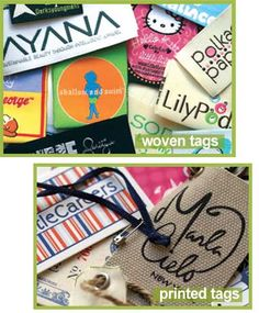 Clothing Labels| Woven Labels, Cloth Labels, Hang Tags, Woven Clothing Tags - Cruzlabel.com