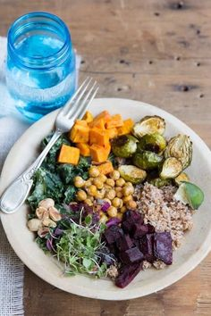 Try Super Food Bowls for a healthy winter dinner