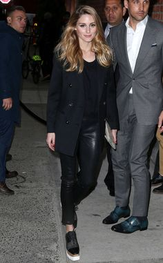 Olivia Palermo Arrives at Mothers Day Screening