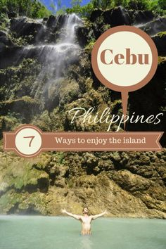 Cebu is great for a tropical getaway. You'll find waterfalls & gorgeous beaches, swim with whale sharks and dive at beautiful coral reefs. Motorbike around or have a relaxing holiday if you travel to this Filipino Island! Best Places To Travel, Cool Places To Visit, Quick Weekend Getaways, Swimming With Whale Sharks, Relaxing Holidays, Alaska Travel, Philippines Travel, Cebu, Culture Travel