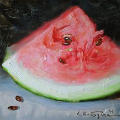 Elena Katsyura | OIL | Watermelon