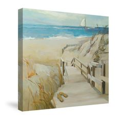 Coastal Escape Canvas Wall Art