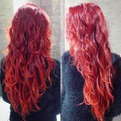 #hair #red #style #love <3 <3 <3