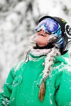 and snowboard Xtreme Sports, Ski Bunnies, Ski Fashion, Arab Fashion, Sporty Fashion, Sporty Chic, Winter Fashion, Winter Love, Summer Winter