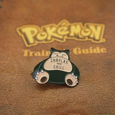 """""""Gotta catch em all!"""" Celebrate over 20 years of Pokemon with this limited edition pin! Show your love of Pokemon by pinning this on your favouritetrainers cap. Go Snorlax! use Snorlax and chill! Designed by our own Ryan Bowles Features  Black rubber clutch Size- 30x22mm Enamel detailing   +Orders over 20+ pleasecontact the teamfor wholesaleoptions-thesundaycoteam@gmail.com"""