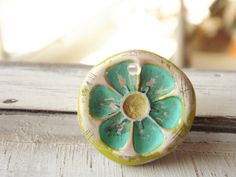 Turquoise Lemon Slice Pendant   Flickr - Photo Sharing!