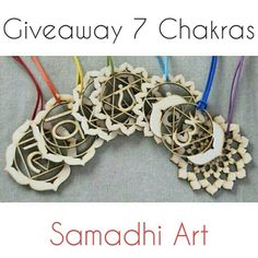 I want to thank all my followers with a GIVEAWAY that finished February 29th! The gift is A SET of 7 WOODEN HARMONIZERS OF 7 Chakras ! There will be only one winner, and you can participate in Facebook and Instagram if you want to have more options.